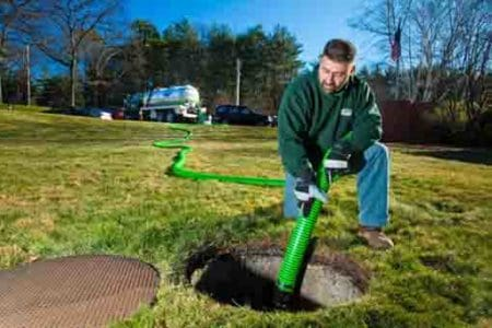 how to clean your septic tank