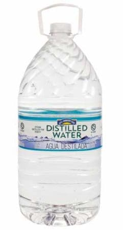 how to make distilled water