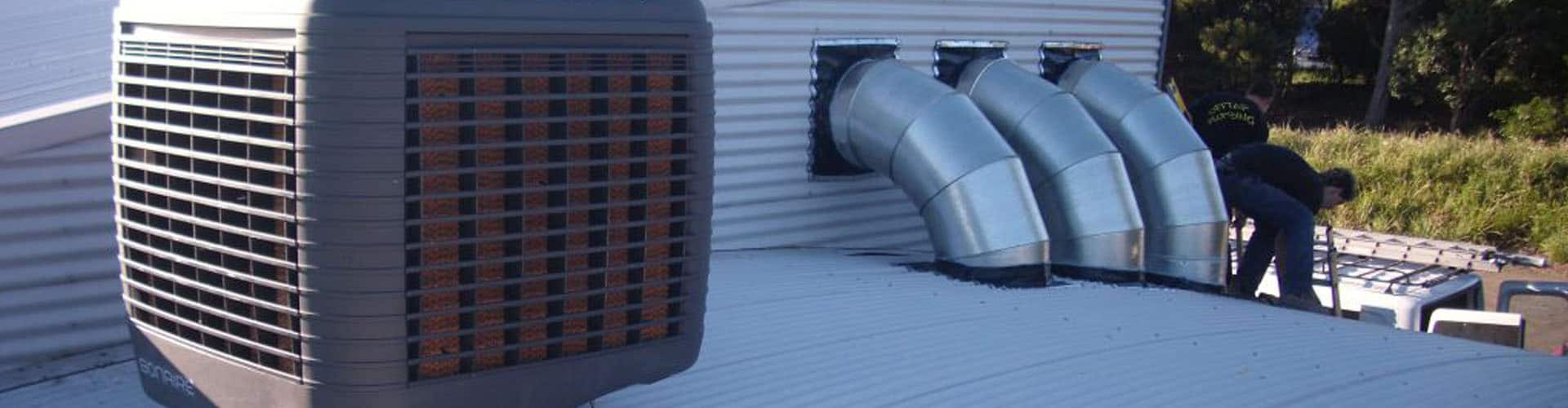How Swamp Coolers Work (Evaporative Coolers)